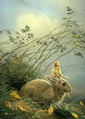 Eastre / Ostara and the history of the Easter bunny | Andrea de ...