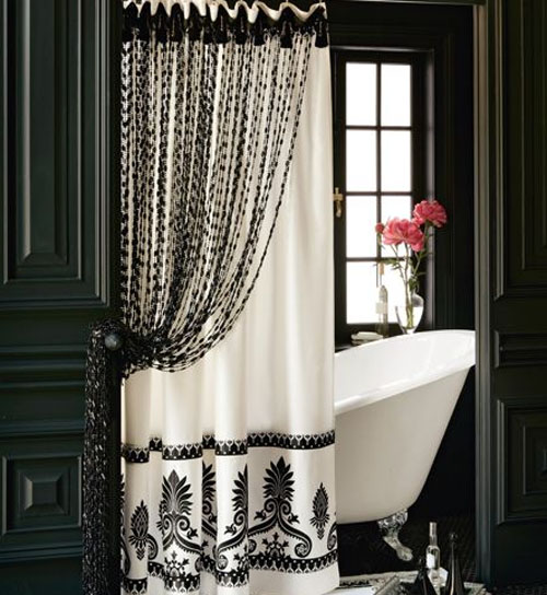 Bathroom Tub Shower Curtain Andrea De Michaelis