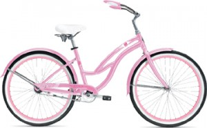 bicycle suncruiser pink