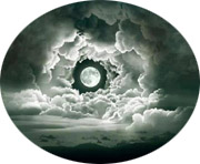 moon full clouds cameo