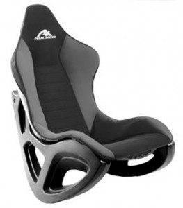 AK 100 Rocker Gaming Chair with ergonomic bucket seat