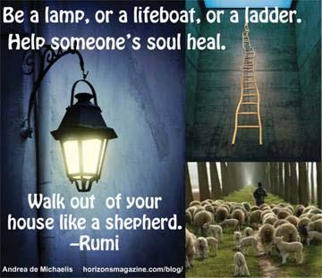 be a lamp lightpost ladder
