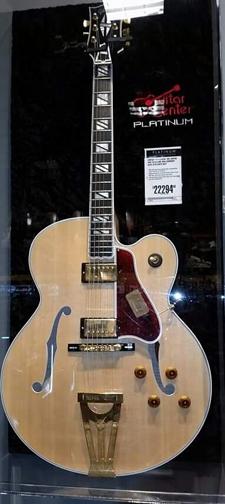 A better gift than a $22,294 guitar