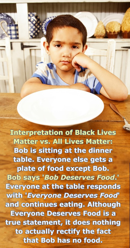 all lives matter where is bobs food copy