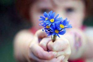 offering-blue-flower